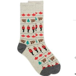 *3for$30* McGregor Canada themed dress socks NWT